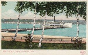 HARBOR POINT, Michigan, 1901-07; The Boat Landing