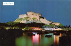 Vintage 1969 Jersey Postcard Mont Orgueil Castle, Channel Islands 61B