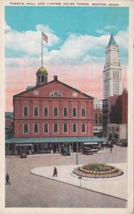 Massachusetts Boston Fanneuil Hall and Custom House