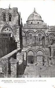 Jerusalem Israel Eglishe du St Sepulcre Jerusalem Eglishe du St Sepulcre