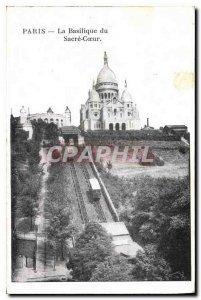 Postcard Old Paris the Basilique du Sacre Coeur
