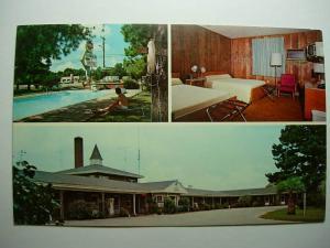 pre-1980 SLUMBERLAND MOTEL Orangeburg South Carolina SC Unused Postcard y8595