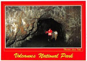 USA Thurston Lava Tube Volcanoes National Park
