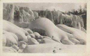 RP: NIAGARA FALLS , Ontario , 1910-30s; In Winter #3