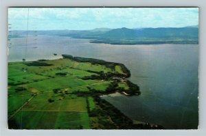 Basin Harbor VT- Vermont, Basin Harbor Club, Aerial View, Chrome c1958 Postcard