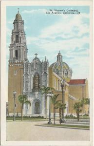St Vincent's Cathedral - Los Angeles CA, California - WB