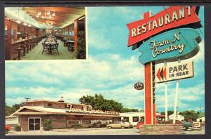 Town 'N Country Reastaurant,Sioux Falls,SD BIN