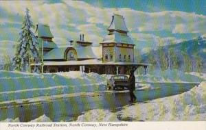 Trains North Conway Railroad Station North Conway New Hampshire