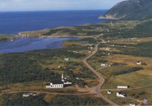 St. Margaret's Village Cape Breton Island NS Nova Scotia Vintage Postcard D22