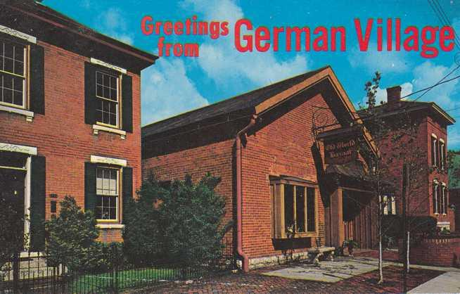 Greetings from german village columbus ohio hippostcard greetings from german village columbus ohio m4hsunfo