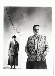 Gertrude Stein and Alice B. Toklas in the 1930s Modern Postcard