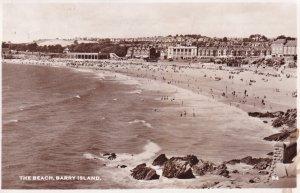 RP; BARRY ISLAND, Glamorgan, Wales, PU-1900; The Beach
