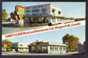 Lundy's Lane Motel and Restaurant,Niagara Falls,Ontario,Canada