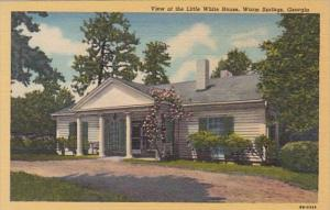 Georgia Warm Springs View Of The Little White House Curteich