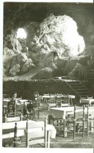 Mexico, La Gruta, Restaurant en Teotihuacan, 1952 used RP