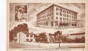 Missouri Hannibal Mark Twain Hotel &  Shrine