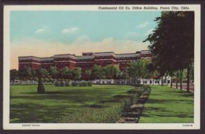 Offices Continental Oil Co Ponca City OK Postcard 4414