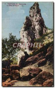 Old Postcard Fountain Vaucluse The Sugar Loaf