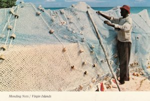 Mending Nets / Virgin Islands , 1950-70s