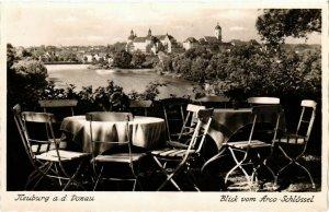 CPA AK Neuburg- blick vom Arco Schlossel GERMANY (943814)