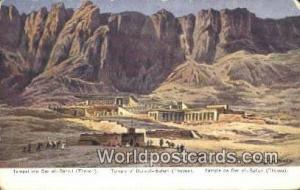 Thebes Eqypt Temple de Der el Bahari  Temple de Der el Bahari