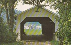 Covered Bridge Longley Bridge Montgomery Vermont