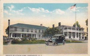 Knights of Pythias Home, Ogdensburg, New York, PU-1923
