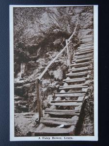Australia NSW LEURA A Fairy Bower c1930's Postcard by H. Phillips of Katoomba