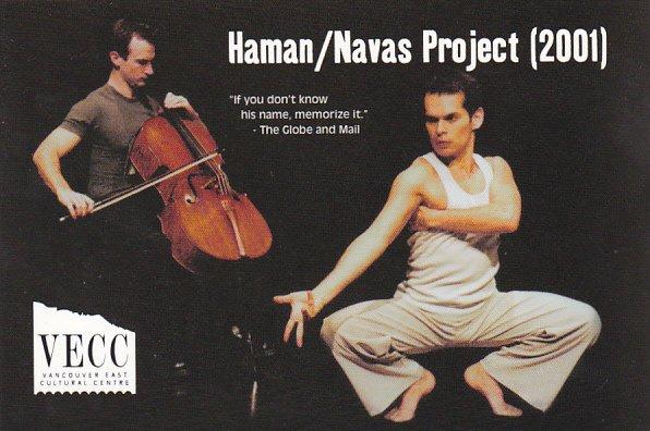 Haman/Navas Project 2001 Vancouver East Cultural Center Canada
