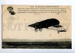 205284 FRANCE AVIATION airplane Bleriot VIII bis #1052