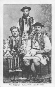 B2987 port national rumaenische volkstrachten costumes types folklore romania