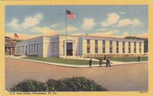 Exterior, U.S. Post Office, Charleston, West Virginia, 30-40s