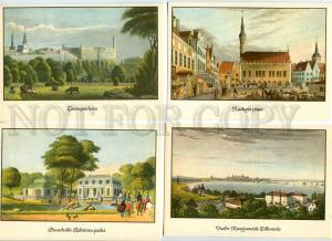 254021 ESTONIA Tallinn Gehlhaar SET of 10 old postcards