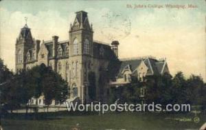 Winnipeg Canada, du Canada St. John's College  St. John's College