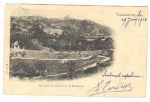 Vue Prise Des Jardins De La Residence, Tananarive, Madagascar, Africa, PU-1903