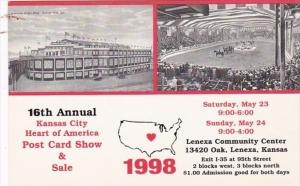 Kansas Kansas City 16th Annual Post Card Show & Sale Lenexa Community Center