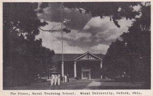 OXFORD, Ohio, PU-1943; The Pines, Naval Training School, Miami University