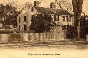 Massachusetts Somerville Tuft's House 1910