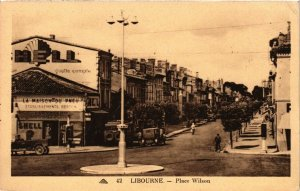 CPA LIBOURNE Place Wilson (336329)