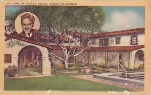 Home of Mickey Rooney (Portrait), Encino, California, 40-60s