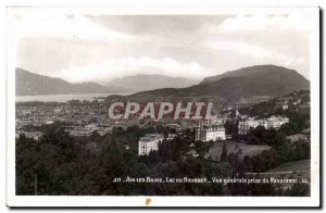 Aix Les Bains - Lake Bourget Vue Generale Taking the Panoramic - Old Postcard