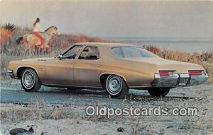 Dumas, TX, USA Postcard Post Card 1971 Buick LeSabre Custom 4 Door Sedan