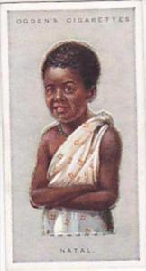 Ogdens Vintage Cigarette Card Children Of All Nations 1924 No 28 Natal