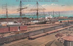 OAKLAND , California , 1912 ; Wharf