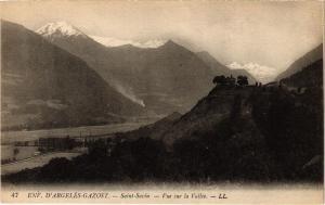 CPA St-SAVIN - Env. D'ARGELES GAZOST - Vue sur la Vallée (281557)