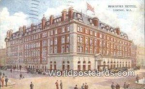 Berners Hotel London UK, England, Great Britain 1935