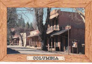 California Columbia State Historical Park Street Scene