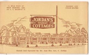 Jordan's Tourist Cottages, West Memphis Ark