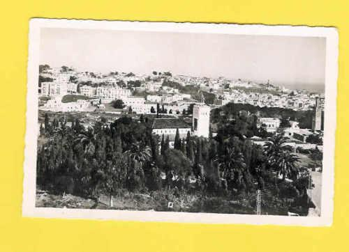 postcard AFRICA MOROCCO TANGER CASBAH GENERAL view 1950s