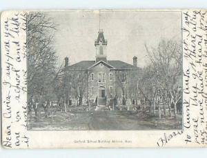 Pre-1907 SCHOOL Abilene Kansas KS A1787